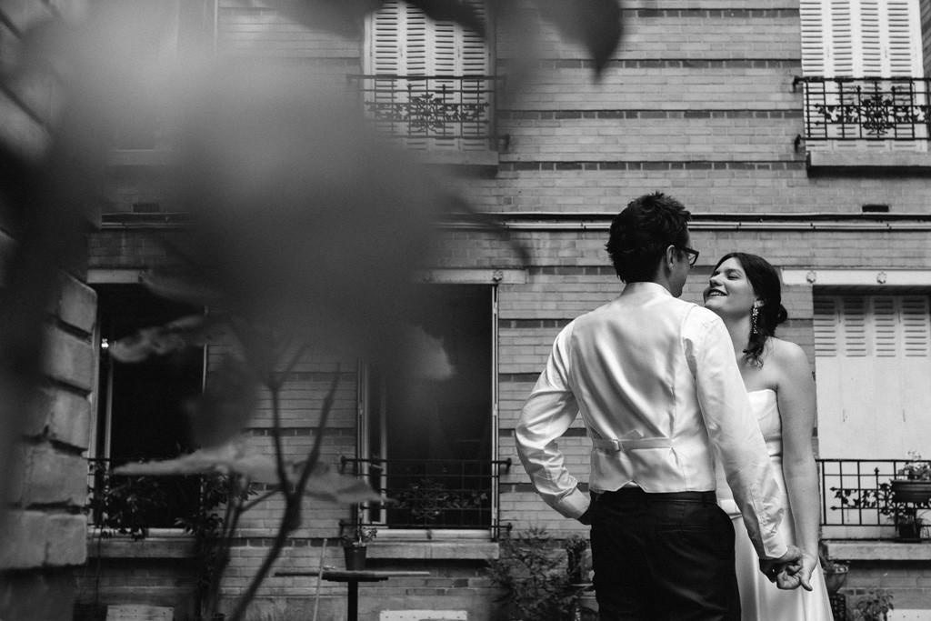 Mariage, été, dévoiler l'amour