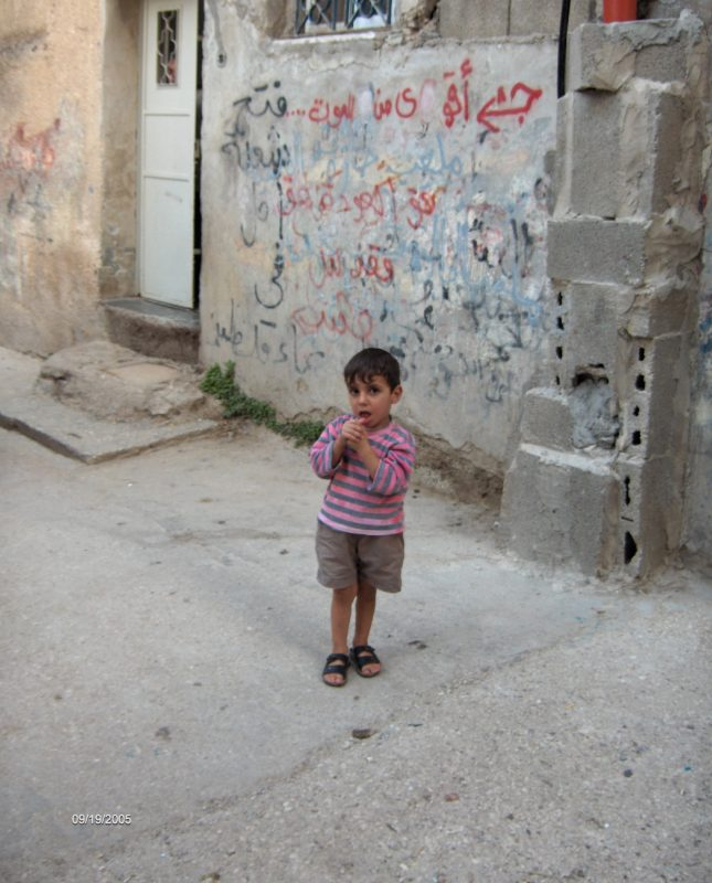 mathilde vermer : dans les ruelles du camps de dhecheh