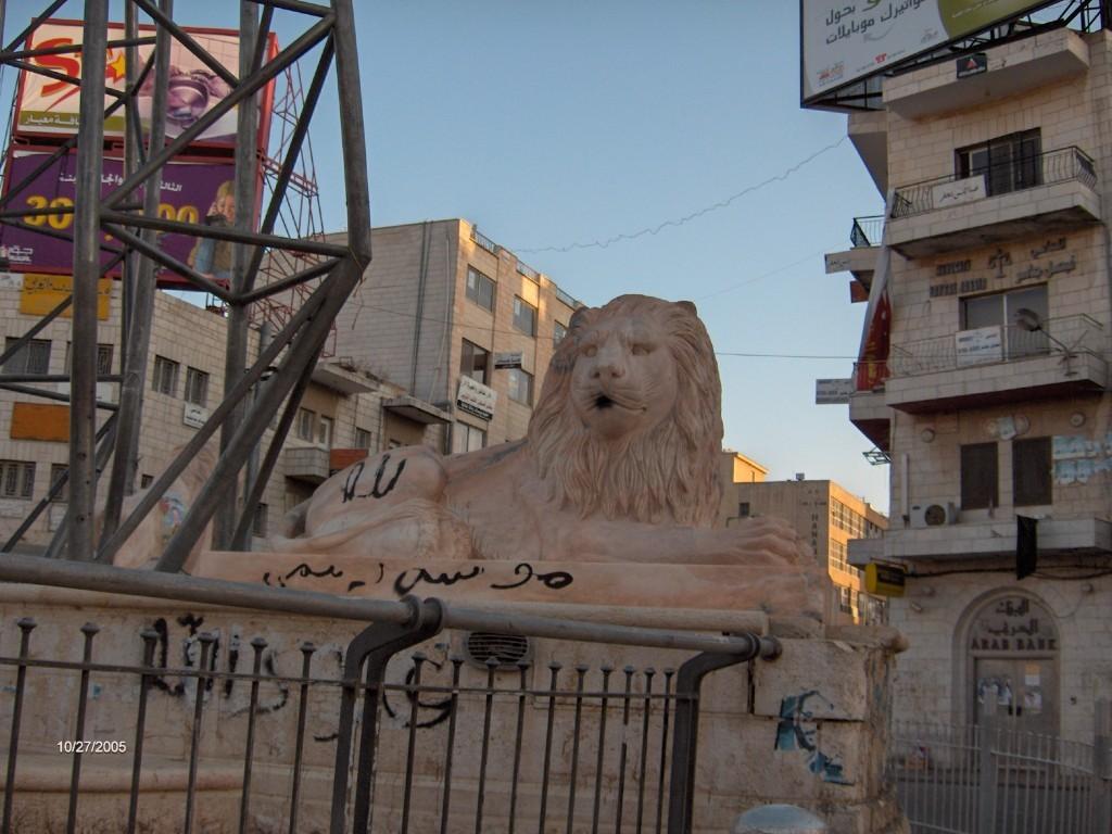 mathilde vermer : un lion dans ramallah