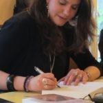 Mathilde Vermer, autrice, écrivain en action, signer des livres, dédicaces, après ramallah, romancière, contact avec ses lecteurs