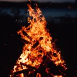 feu, flammes, silence, forêt, peurs, brûler, marcher, écouter, chroniques, Mathilde Vermer